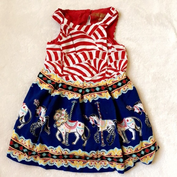 03b71ae2ff3f1c Genuine kids Carousel dress 12 months. M 5aa1d0172c705d8407719212